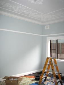 fresh paint work