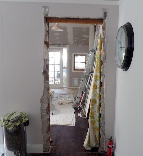old dining room door